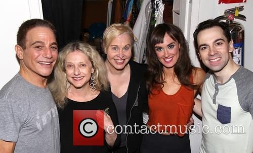 Tony Danza, Carol Kane, Nancy Opel, Brynn O'malley and Rob Mcclure