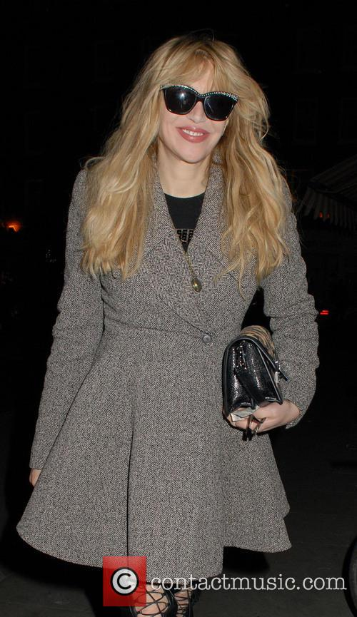 Courtney Love at the Chiltern Firehouse