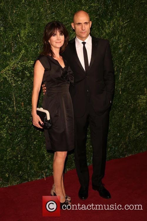 Mark Strong and Wife 1
