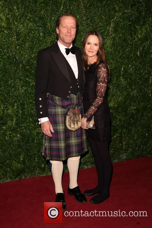 Iain Glen and Charlotte Emmerson 1