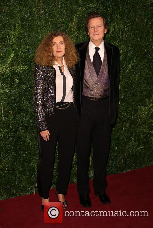 Nicole Farhi and David Hare 2