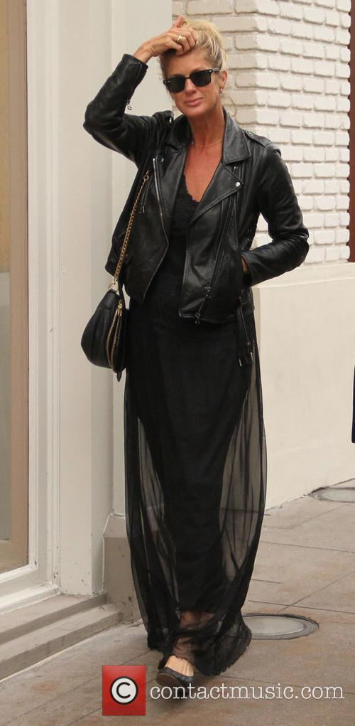 Rachel Hunter goes shopping at The Grove