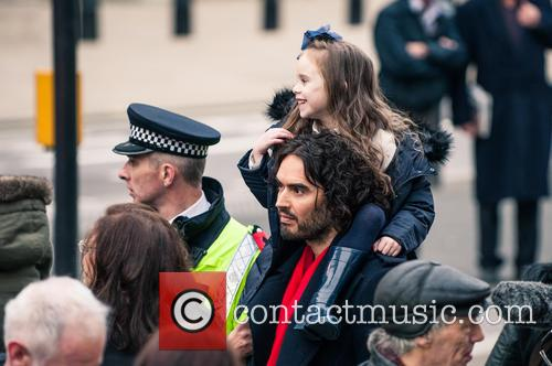 Russell Brand joins in on march against rising...