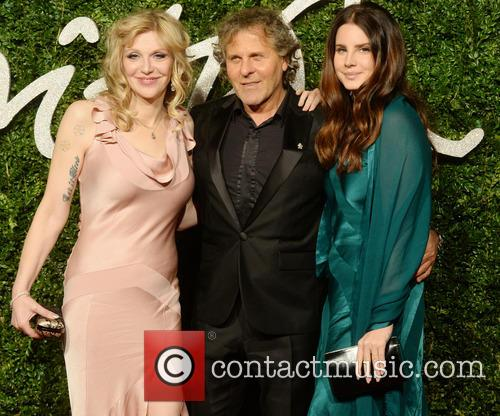 Courtney Love, Renzo Rossi and Lana Del Rey 3