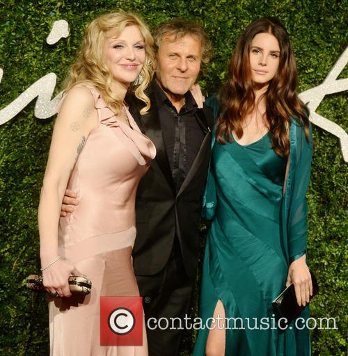 Courtney Love, Renzo Rossi and Lana Del Rey 5