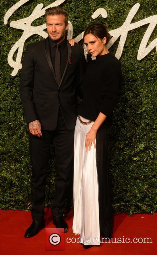David Beckham and Victoria Beckham 5