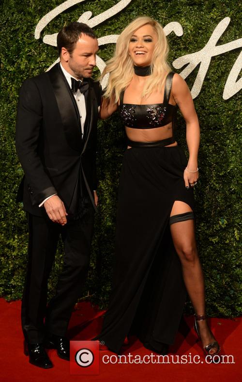 Rita Ora and Tom Ford 2