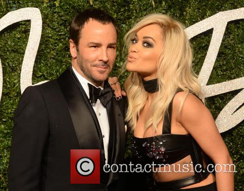 Rita Ora and Tom Ford 3