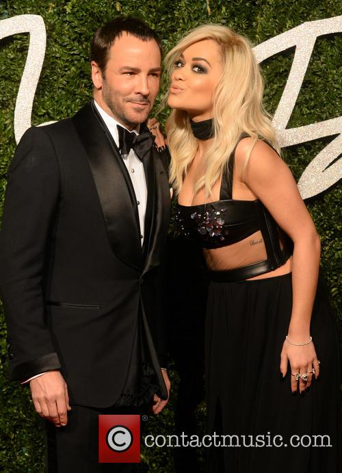 Rita Ora and Tom Ford 4