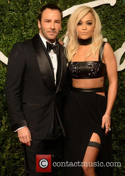 Rita Ora and Tom Ford 5