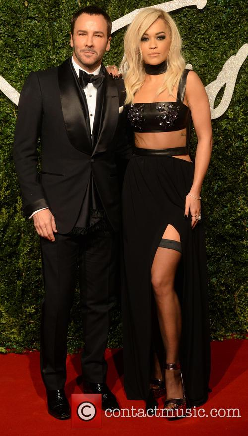 Rita Ora and Tom Ford 6