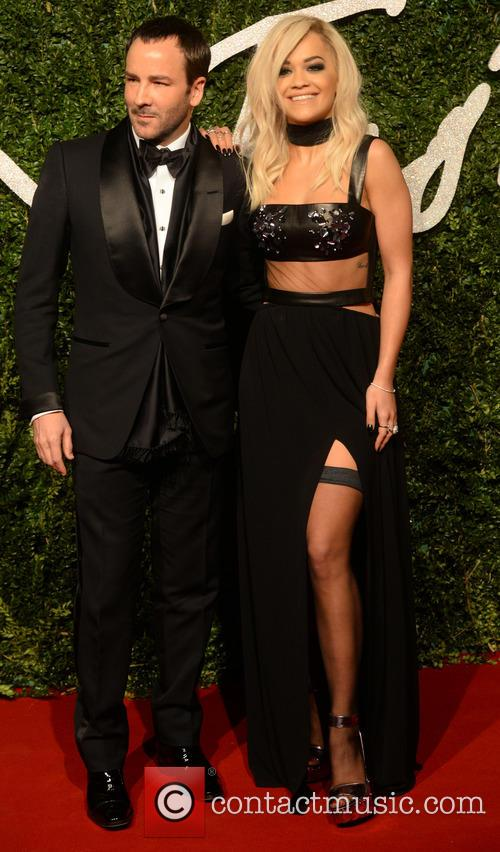 Rita Ora and Tom Ford 1