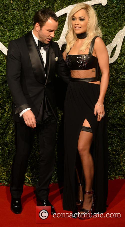 Rita Ora and Tom Ford 7