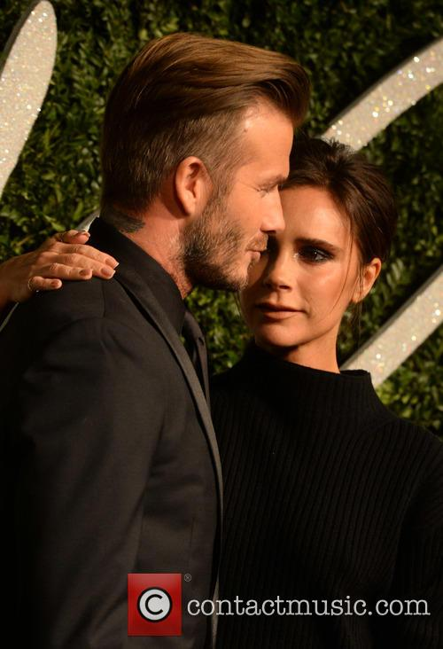 Victoria Beckham and David Beckham 1