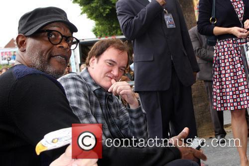 Quentin Tarantino and Samuel L. Jackson 8