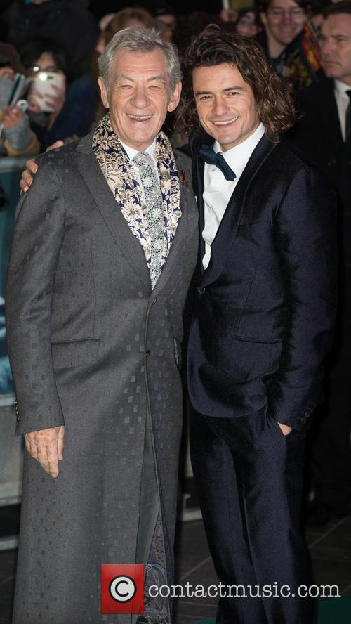 Orlando Bloom and Ian Mckellen 11