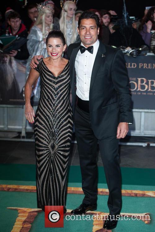 Manu Bennett and Karin Horen 4