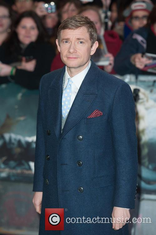 Martin Freeman at The Hobbit premiere