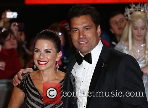Manu Bennett and Karin Horen