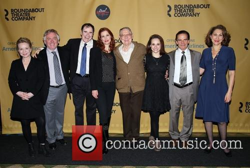 Debra Jo Rupp, Daniel Davis, Richard Kind, Rachel York, John Cullum, Tracee Chimo, Peter Scolari and Randy Graff