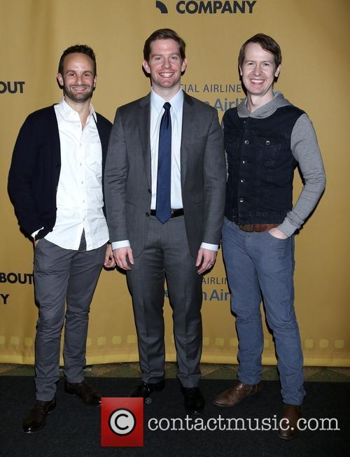 Nick Mills, Rory O'malley and David Turner