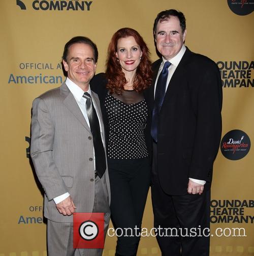 Peter Scolari, Rachel York and Richard Kind