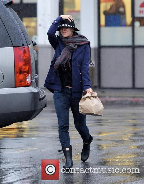 Kaley Cuoco feeling under the weather in a...