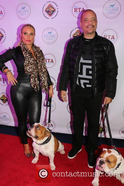 Coco Austin, Ice-t, Dogs Maximus and Sparticus 4