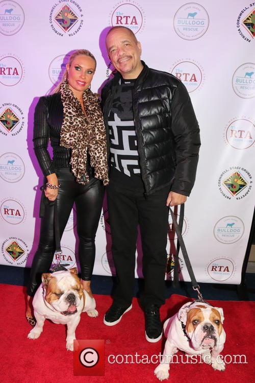 Coco Austin, Ice-t, Dogs Maximus and Sparticus 8