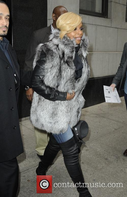 Mary J. Blige at the 'The Wendy Williams...