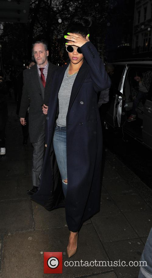 Rihanna out and about in London