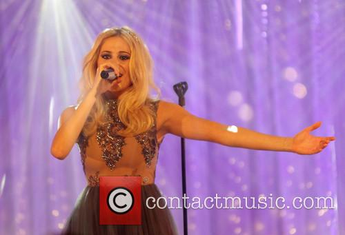 Pixie Lott performs in 'Sky Arts: The Christmas...