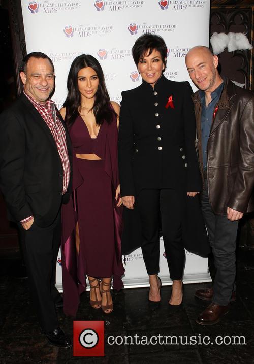 Joel Goldman, Kim Kardashian, Kris Jenner and Tim Mendelson 4