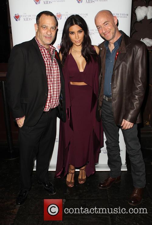 Joel Goldman, Kim Kardashian and Tim Mendelson 1