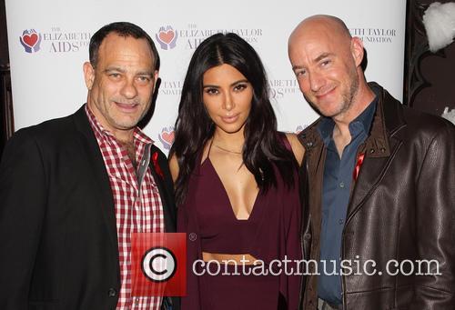 Joel Goldman, Kim Kardashian and Tim Mendelson 2