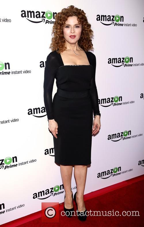 Bernadette Peters and Donna Karan