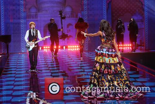 Lais Ribeiro and Ed Sheeran 4