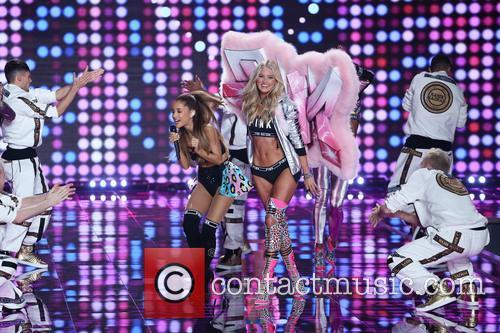 Elsa Hosk and Ariana Grande 3
