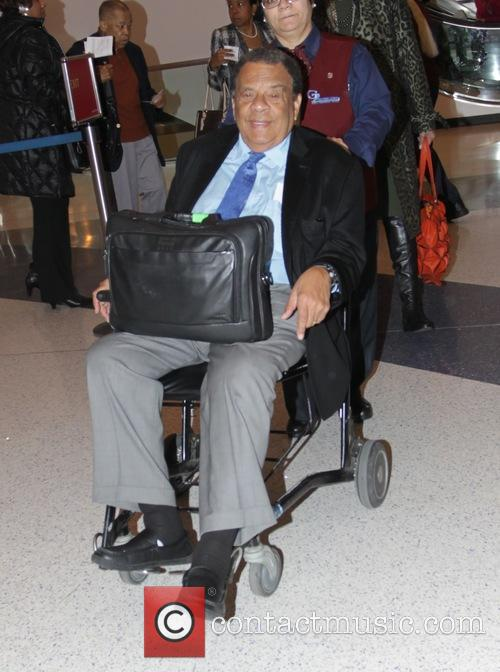 Andrew Young at Los Angeles International Airport (LAX)