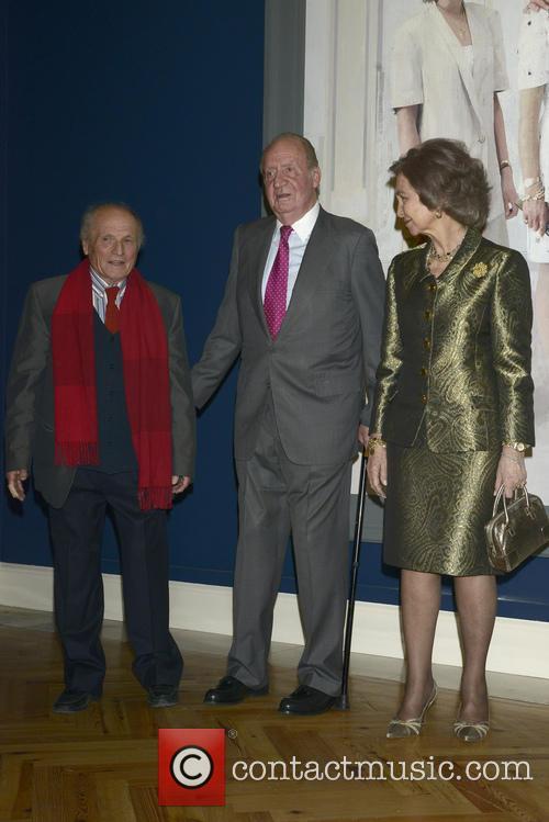 Queen Sofia Of Spain, King Juan Carlos Of Spain and Antonio Lopez 5