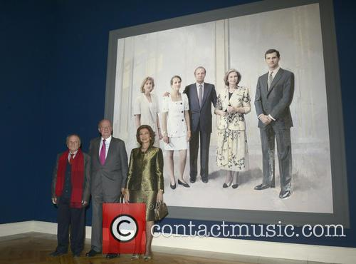 Queen Sofia Of Spain, King Juan Carlos Of Spain and Antonio Lopez 6