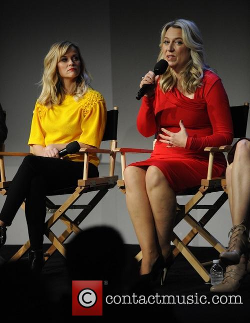 Reese Witherspoon, Laura Dern, Cheryl Strayed and Bruna Papandrea 4