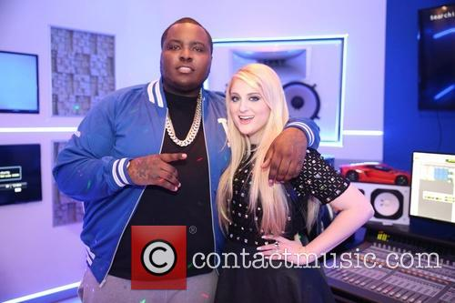 Sean Kingston records a duet with Meghan Traino