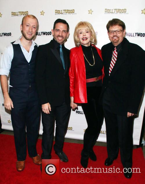 Tom Saporito, Mel England, Francine York and Paul Burchett 2