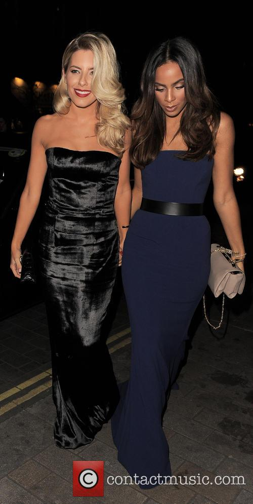 Mollie King and Rochelle Humes 2