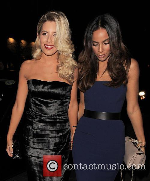 Mollie King and Rochelle Humes 1