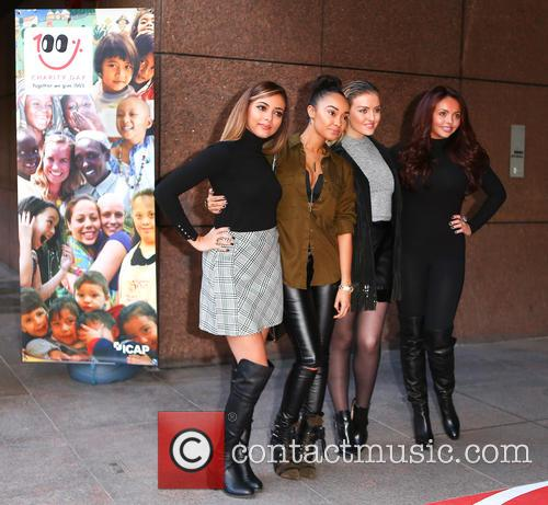 Jesy Nelson, Perrie Edwards, Leigh-anne Pinnock, Jade Thirlwell and Little Mix 1
