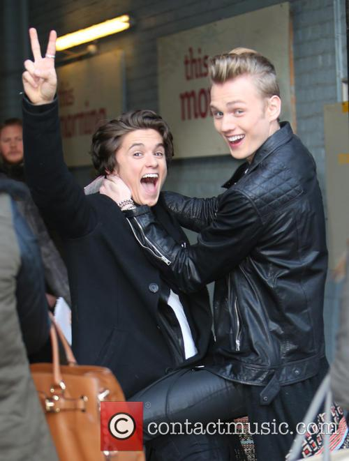 Bradley Will Simpson, Tristan Evans and The Vamps 3