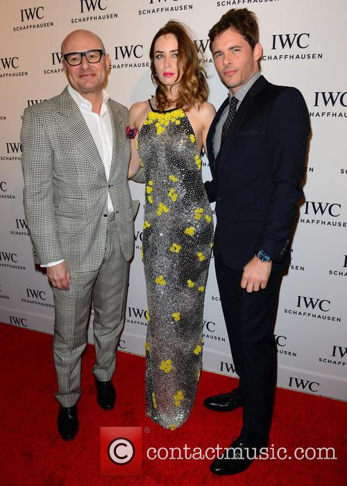 Georges Kern, Guest and James Marsden 3