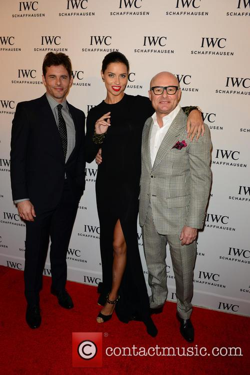 James Marsden, Adriana Lima and Georges Kern 7